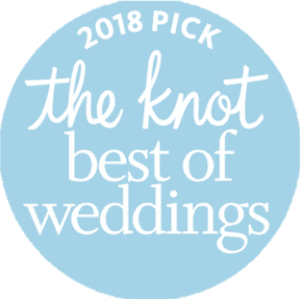 2018 Award from The Knot on winning Best of Weddings