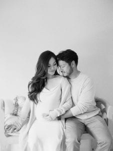 Minimal Maternity Shoot | Keestone Events