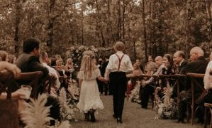 Bohemian Wedding at The White Sparrow